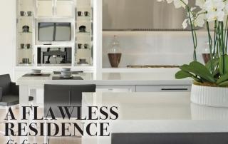 Luxury white kitchen designed by Diamond Custom Homes
